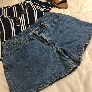 Polo jeans company shorts women's